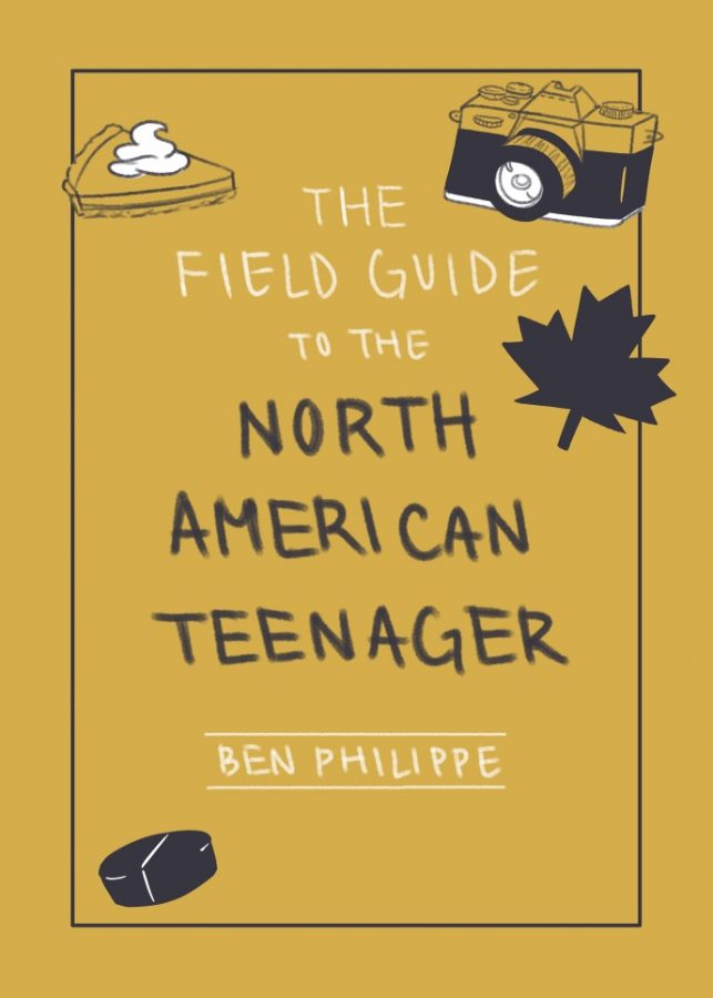 """A funny book: """"The Field Guide to the North American Teenager"""" by Ben Philippe."""