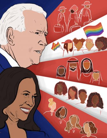 President-elect Joseph R. Biden and vice president-elect Kamala Harris' win on Nov. 7 brought about the possibility of increased representation for marginalized communities. The last four years have exacerbated discrimination and underrerpesentation for groups such as Latinx, Black and LGBTQ+ communities, but Biden's administration signals potential changes for the better.