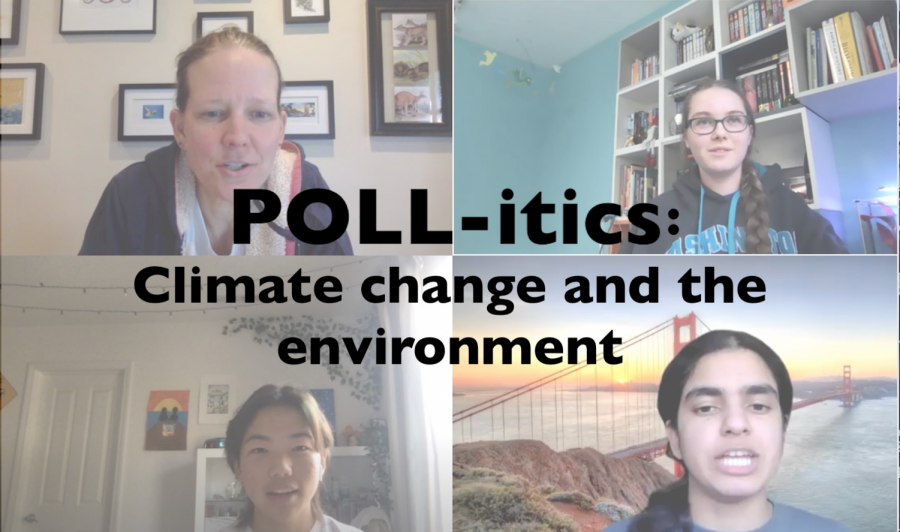 POLL-itics: Climate change and the environment