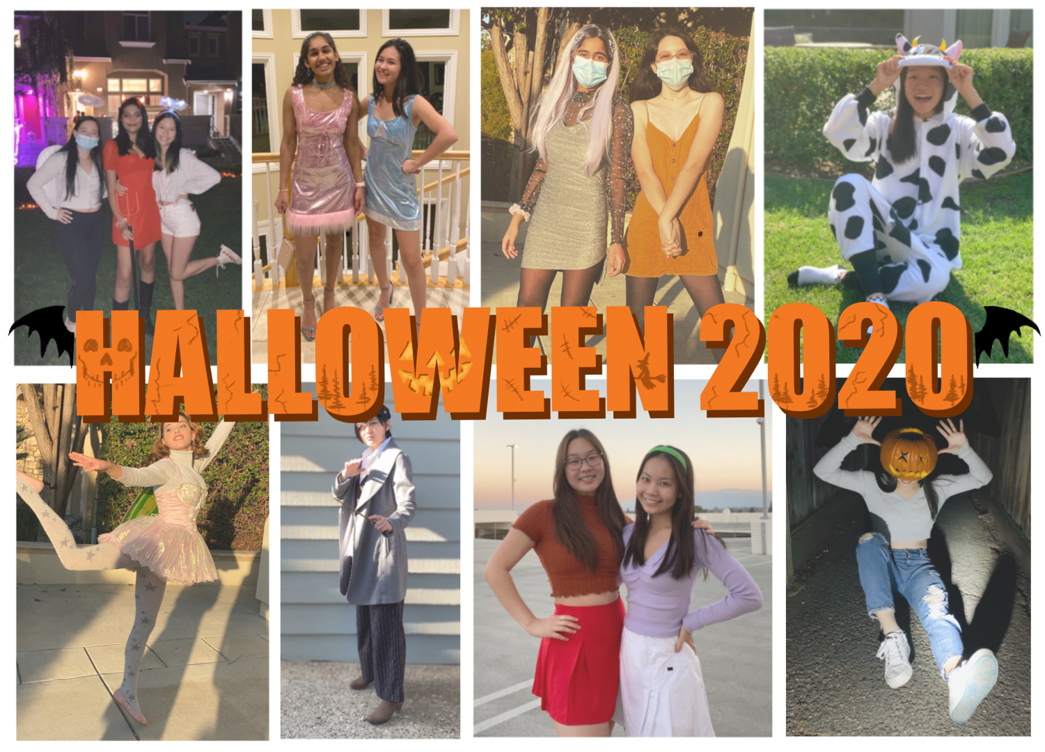 This year, students preserved the Halloween spirit through their costumes, many of which were homemade, transforming themselves into movie characters, fairies, and even a Christmas tree.