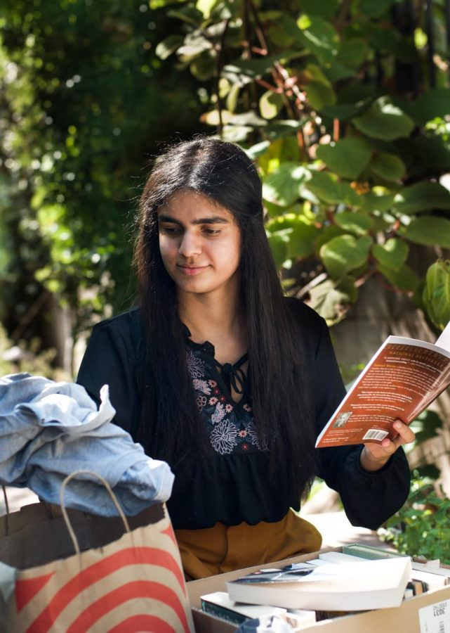 """Everything took off because I finally had something established, I finally found my place. And I'm going to continue, I'm not going to just back down … I have this mantra in my head that individuals can change communities, but communities can change the world,"" Sachi Bajaj (12) said."