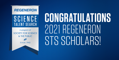 Seniors Shray Alag, Saloni Shah, Aditya Tadimenti and Sidra Xu were named Regeneron scholars in the Regeneron Science Talent Search (STS) as part of the top 300 scholars out of 1,760 applicants across 611 schools and 49 states.