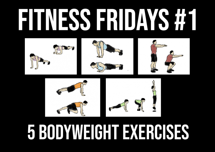 Fitness Fridays is a new weekly repeater featuring five bodyweight exercises you can perform to stay healthy during quarantine.