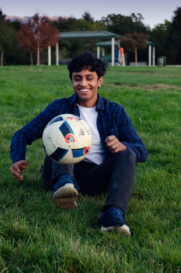 """What I like most about [soccer] is just seeing my team improve along with me throughout the four years of high school because in freshman year, most of us were [junior varsity] … and just seeing us all progress to the varsity team and become varsity players, [is] what I enjoy most about it,"" Tuhin Chatterjee (12) said."