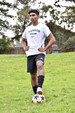 Ishaan Mantripragada (11) began playing soccer at the age of five. As a striker, Ishaan relies on his physical attributes as well as his awareness to bypass his defenders and score goals.