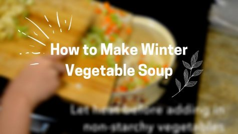 Winter blues got you down? Here is a beginner-friendly, adjustable vegetable soup to bring you some comfort at home.