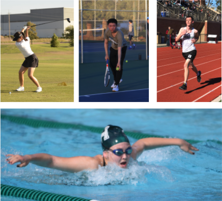 Following the most recent state and county COVID-19 regulations, the CIF's purple tier sports, which include cross country, golf, tennis, swimming, and track and field, have been allowed to resume.