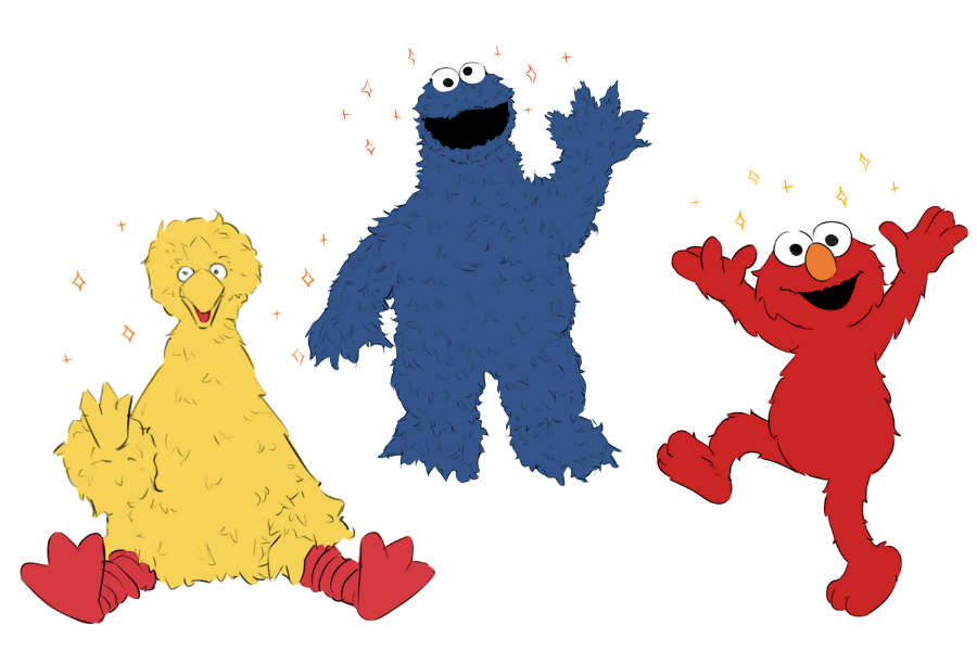 In this tutorial, I will be providing a step-by-step tutorial complete with examples of sketches on Big Bird, Elmo and the Cookie Monster from Sesame Street, in order of least difficult to most difficult.