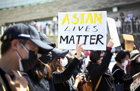 More than 1000 protestors gather at San Jose City Hall to protest hate crimes against Asian Americans and Pacific Islanders (AAPI) on Sunday March 21. The protest was just one of many happening across the nation after the recent spotlight of Asian-directed attacks.