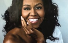 """""""Becoming is a 421 page memoir by former first lady Michelle Obama that was first published on Nov. 13, 2018. Obama is also the author of """"American Grown."""