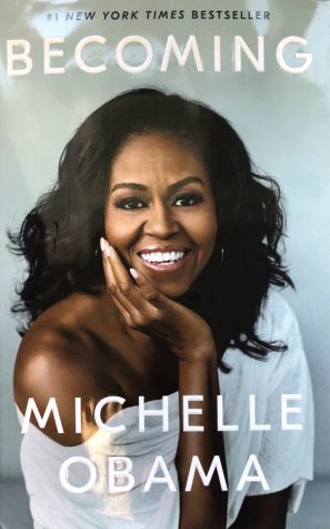 """Becoming"" is a 421 page memoir by former first lady Michelle Obama that was first published on Nov. 13, 2018. Obama is also the author of ""American Grown."""