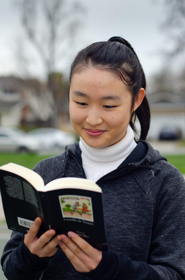 """I want to be remembered as a person who made people feel more positive. There's so much going on in life all the time, but when you step back, the most meaningful parts are when you feel happy when someone is there. So I just want people to feel like I made a little happy difference in their life,"" Claire Luo (12) said."