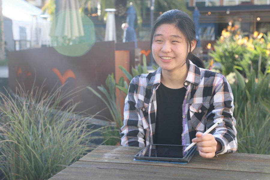 """""""Everything I do, I do it because I really love it. And I really wish other people could also see the joy and sublimity that I find in some disciplines, like math [and] biology. [I want to] help show students who are not as interested in those activities, the power and beauty of sciences,"""" Sidra Xu (12) said."""