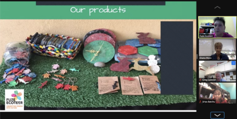 The Green Team invited Daniel Quilter to speak about his plastic upcycling project in Malaysia on April 26. Quilter's project uses the Precious Plastic machine, which can convert used plastic into upcycled objects like coasters, clocks, utensils, and more.