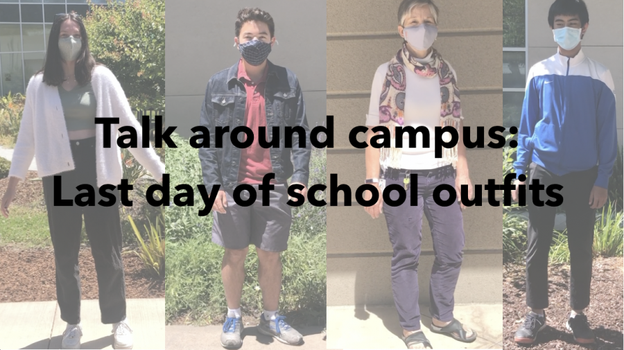 Talk around campus: Last day of school outfits