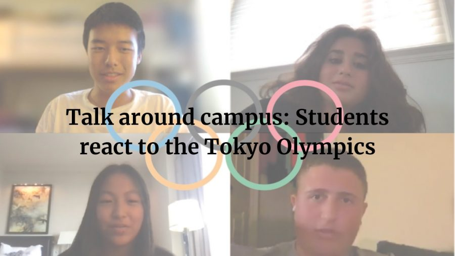 Talk around campus: Students react to the Tokyo Olympics
