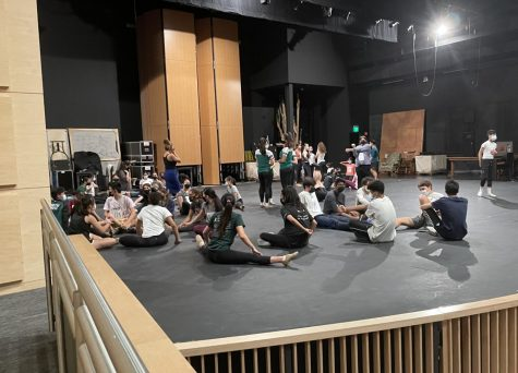 Students audition for the Dance Production Blast from the Past in the Patil Theater. Over 150 participants attended the auditions on Saturday, for which the cast list will be posted this Friday, Sept. 17.