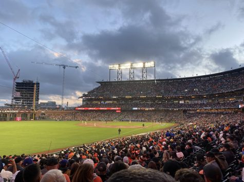 Game 1 of the National League Division Series (NLDS) between the San Francisco Giants and Los Angeles Dodgers was held at Oracle Park. The Giants won 4-0.